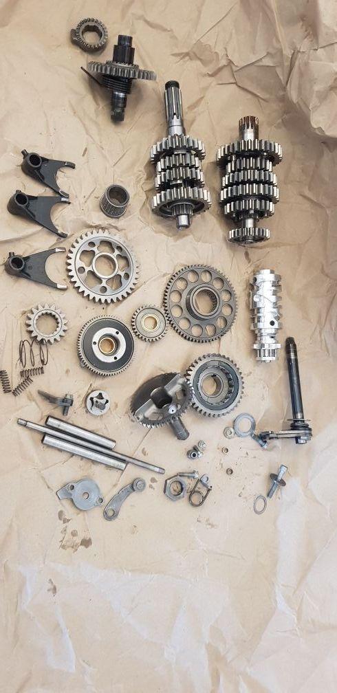 despiece motor ktm exc excr 2009