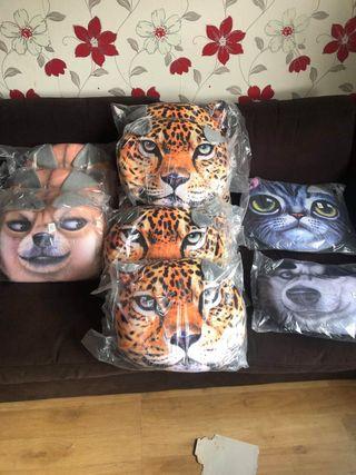 Brand new animal pillows