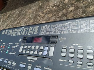Teclado technics KN501