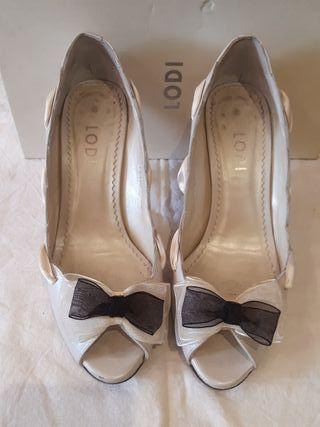 Zapatos de novia de Lodi talla 38