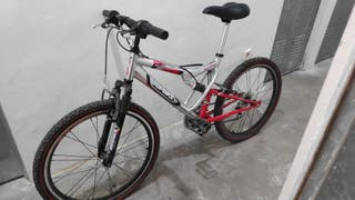 bici montaña doble suspensión Aluminio
