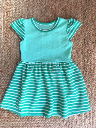 Vestido de Niña T5 hecho a mano