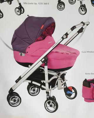 Cochecito Bebé Confort Loola rosa