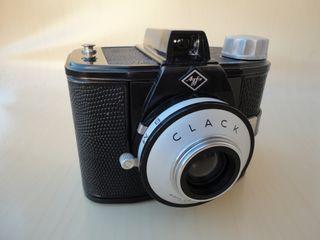 Antigua cámara fotografica AGFA CLACK
