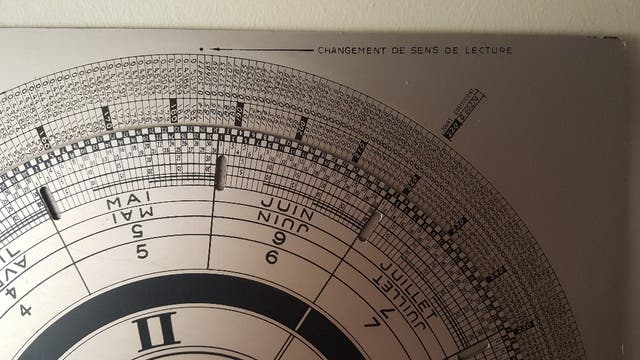 Calendario Perpetuo Vintage