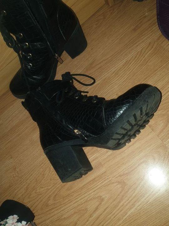 botas plataforma