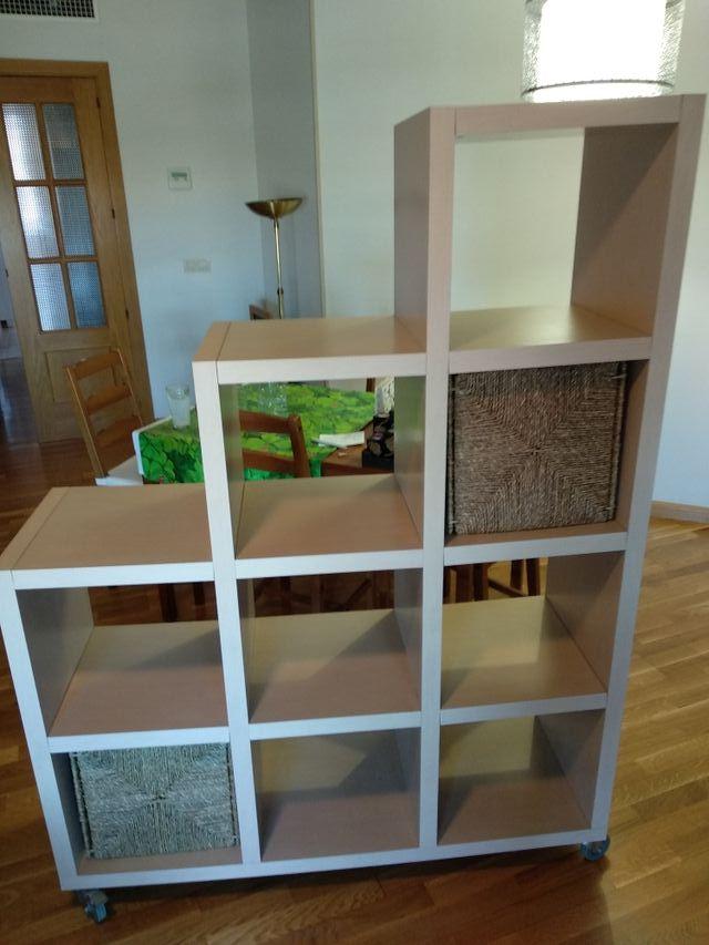Mueble estantería escalinata Salón o Habitación