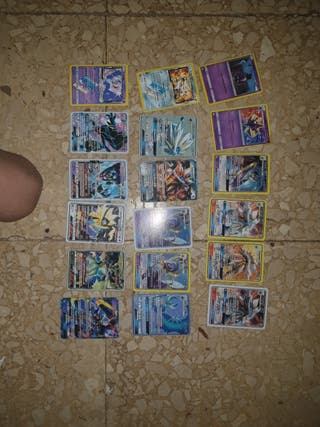 lote de cartas pokemon en perfecto estado