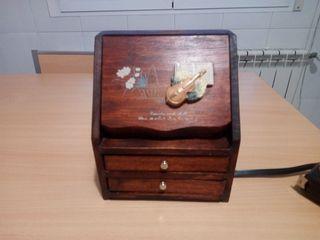 joyero madera vintage
