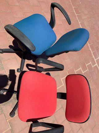 02 sillas de oficina