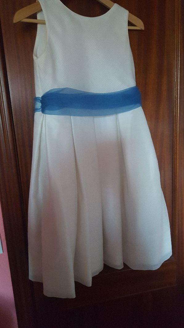Vestido De Fiesta Para Niña 9 10 Años De Segunda Mano Por 20