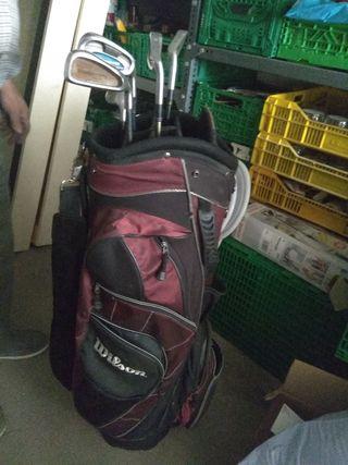 Bolsa golf Wilson con 5 palos