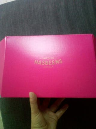 sabots Swedish Hasbeens neufs