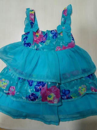 Vestido Freestyle talla 12-18 meses