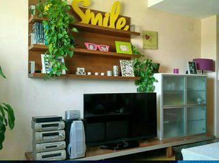 mueble salón ,estantería y mueble bar