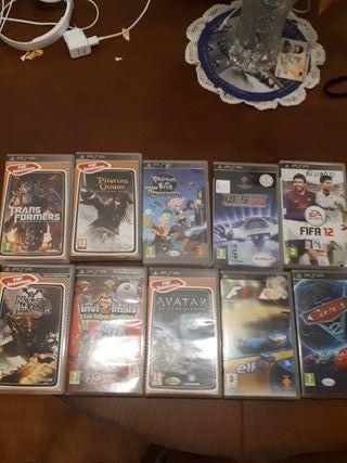 Lote de juegos PSP