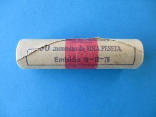 CARTUCHO DE MONEDAS 1980 *82 DE 1 PESETA.