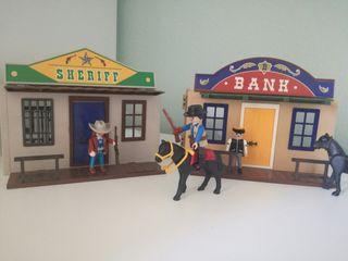 Playmobil Maletin Oeste