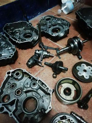 despiece de motores de pit bike 110 125 140cc
