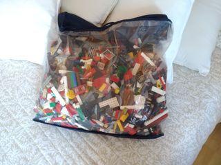 Lote de piezas de Lego