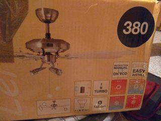 Lámpara-Ventilador de techo