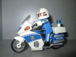 Playmobil. Moto Policía Ref. 4262.