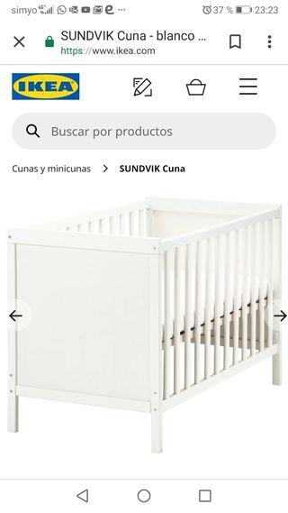 Cuna En Ikea Wallapop Colchón De Mano Segunda Sevilla dCxBeroW