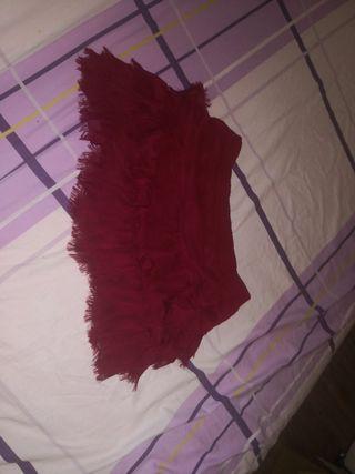 Falda Roja 13-14 años