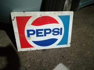 chapa antigua de Pepsi.