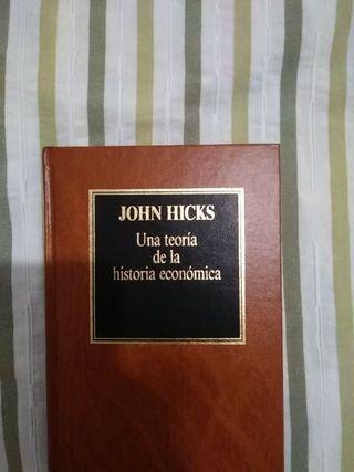 Una teoría de la historia económica, de Hicks