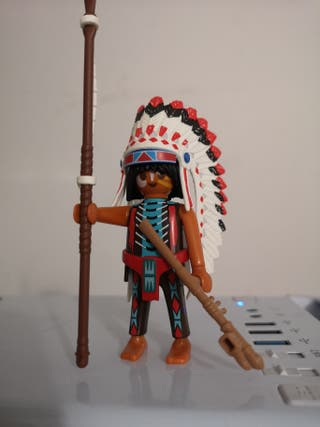 Playmobil Jefe Indio Sioux