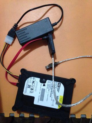 Cable de Disco duro a usb directa