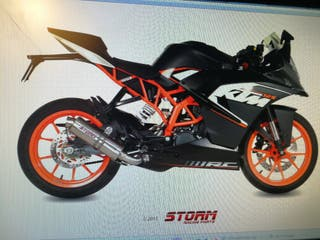 KTM RC 125 2014 2016 GP INOX STORM EXHAUST