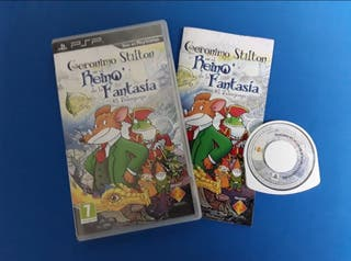 Psp - Geronimo Stilton - reino de la fantasia