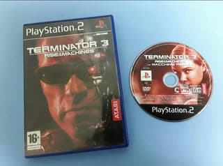Ps2 - Terminator 3 Rise of the Machines