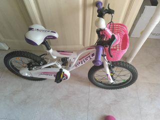 bicicleta niña 50 E