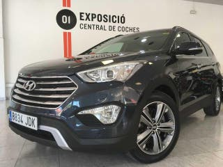 Hyundai Grand Santa Fe 2.2 CRDI Aut. 4x4 Style Brown 7 Plazas / Navi / Techo / Cuero / Bixenon...