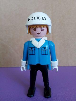 Playmobil policía antiguo
