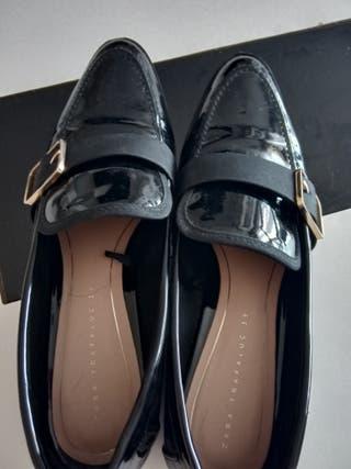 Planos Segunda Charol Por 39 Zara Mano € El Zapatos Talla En 5 De DHI9E2