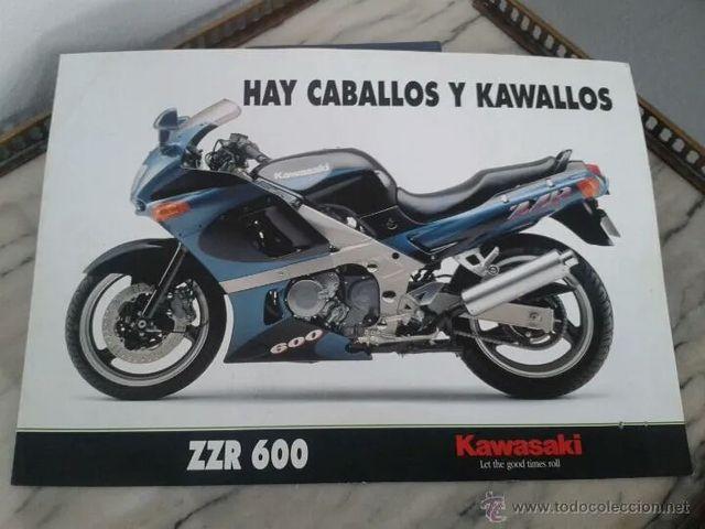 despiece Kawasaki Zzr 600 92