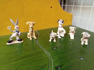 LOTE 101 dalmatas y Bugs Bunny