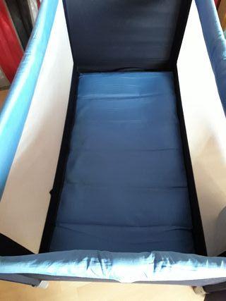 cuna de viaje con base y colchón plegable
