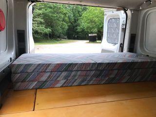 Colchón para furgoneta camper o camping