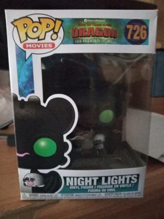 Funko pop night lights dragon