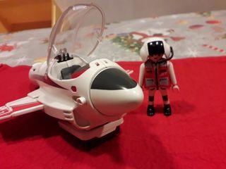 Playmobil Piloto con avión