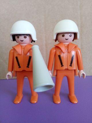 Playmobil pareja rescate