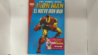 Comic Marvel gold Iron Man - el nuevo Iron Man