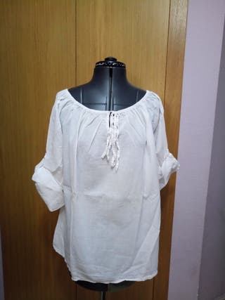 Blusa ibicenca talla XL