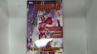 Comic Marvel el invencible Iron Man - el libro de