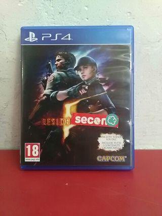 Juego PS4 Residente Evil V
